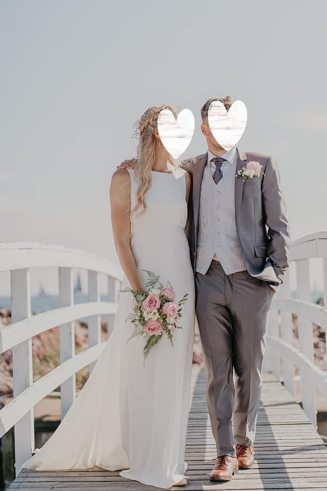 Sincerity Bridal hääpuku / morsiuspuku koko S